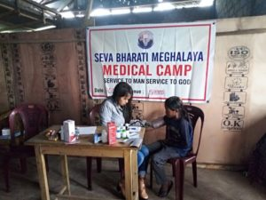 Free Medical Camps – Seva Bharati Meghalaya 2016, 2017, 2018