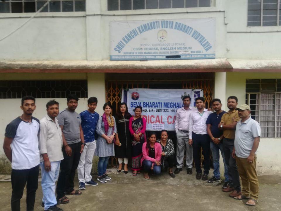 Health Free medical camps Seva Bharati Meghalaya